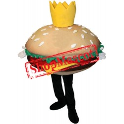 Big Hamburger Mascot Costume