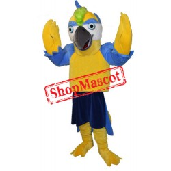 Yellow Parrot Mascot Costume