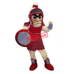 Fierce Red Titan Mascot Costume