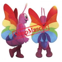 Colorful Butterfly Mascot Costume