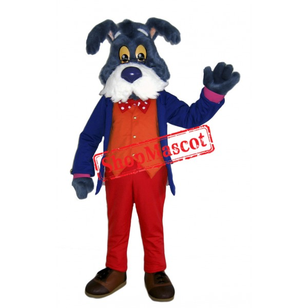 Old Gentlemanly Dog Mascot Costume