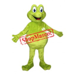 Happy Lightweight Frog Mascot Costume Free Shipping