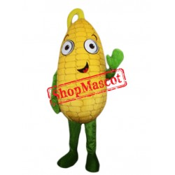Happy Lightweight Cob Corn Mascot Costume