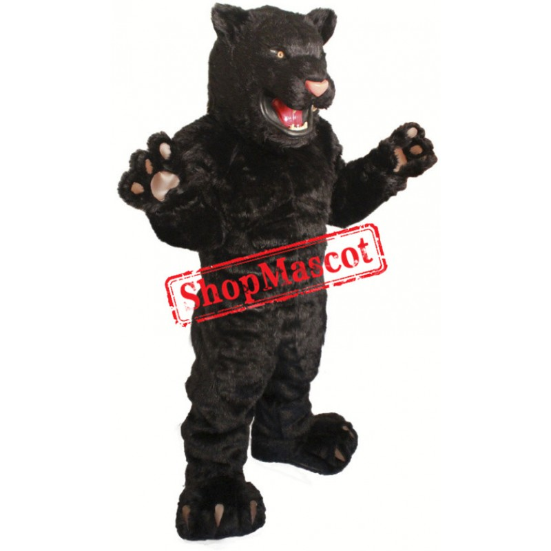 High Quality Fierce Black Panther Mascot Costume