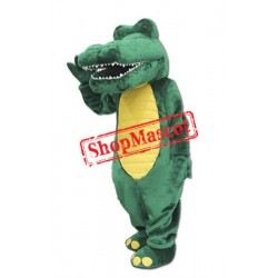 Friendly Lightweight Alligator Mascot Costume