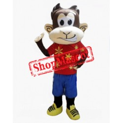 Funny Lightweight Monkey Mascot Costume
