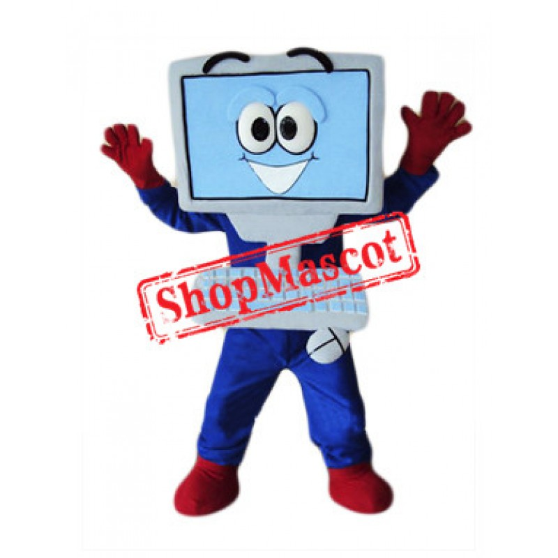 High Quality Computer Mascot Costume