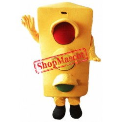 Traffic Safe Light Mascot Costume