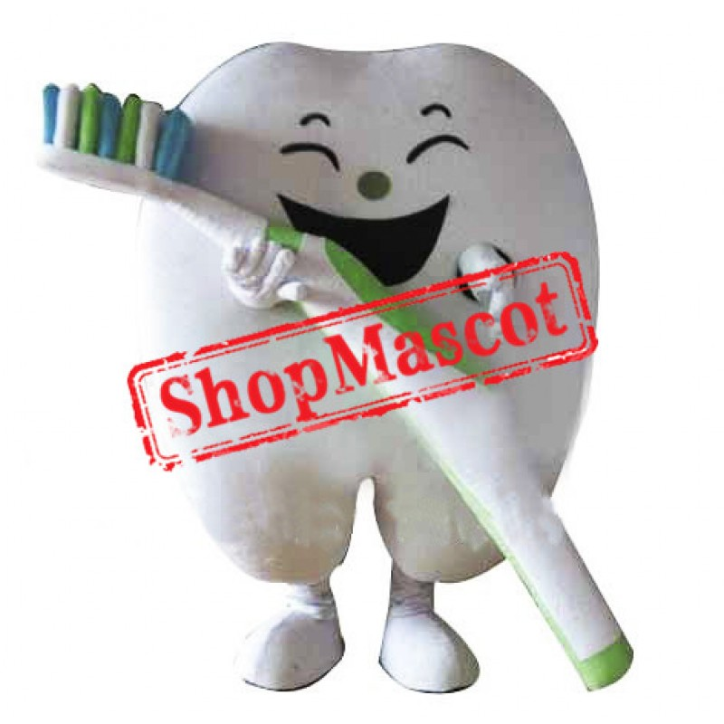 Happy Tooth Mascot Costume