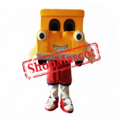Orange Car Mascot Costume