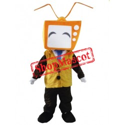 Orange TV Mascot Costume