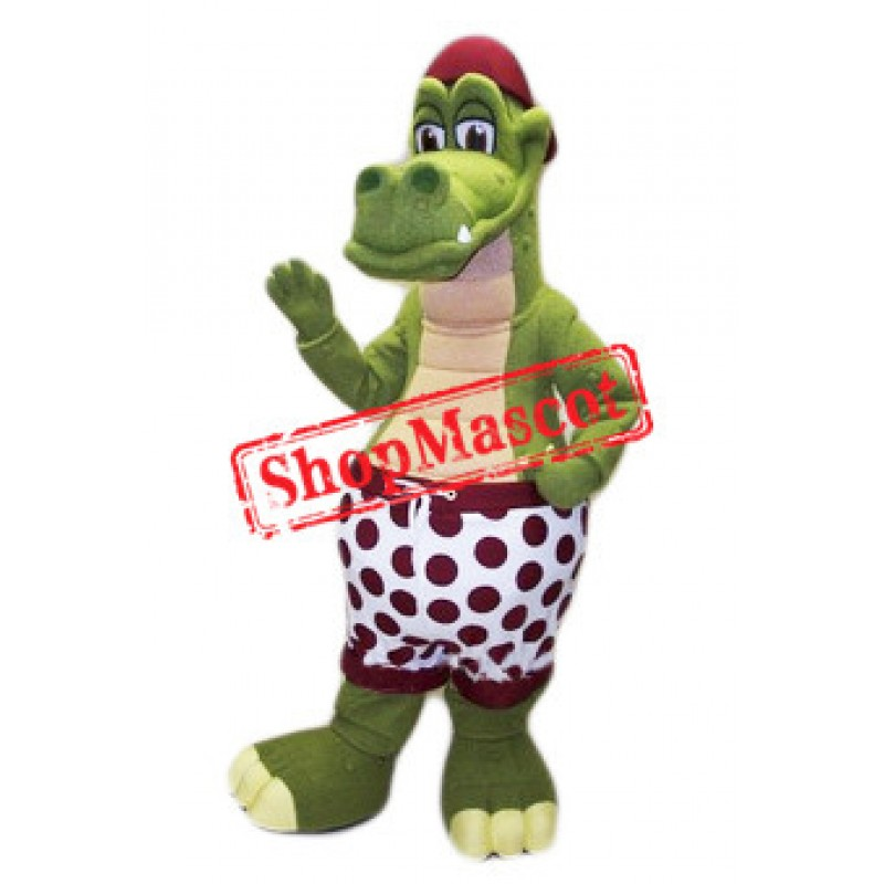 Best Quality Crocodile Mascot Costume