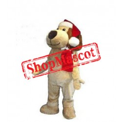 Christmas Dog Mascot Costume