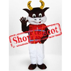 Friendly Lightweight Cow Mascot Costume Free Shipping