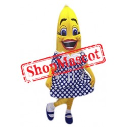 Girl Banana Mascot Costume