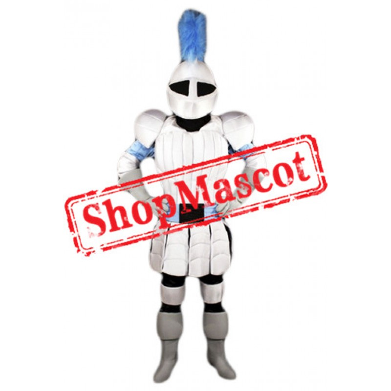 Hero Knight Mascot Costume