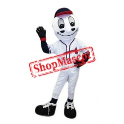 Homer Baseball Ball Mascot Costume