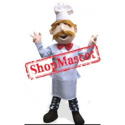 French Chef Mascot Costume