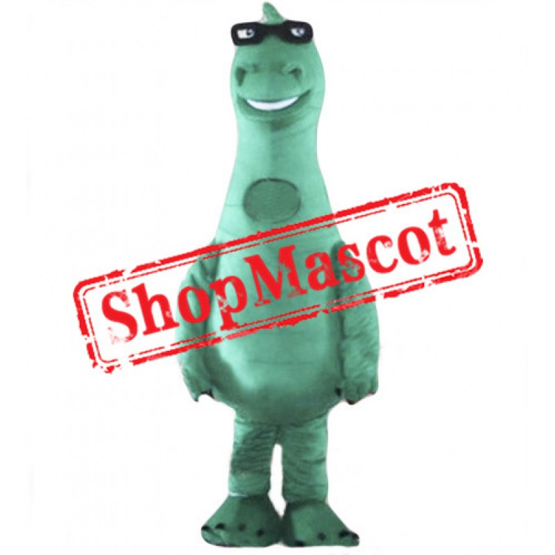 Cute Lightweight Green Dinosaur Mascot Costume