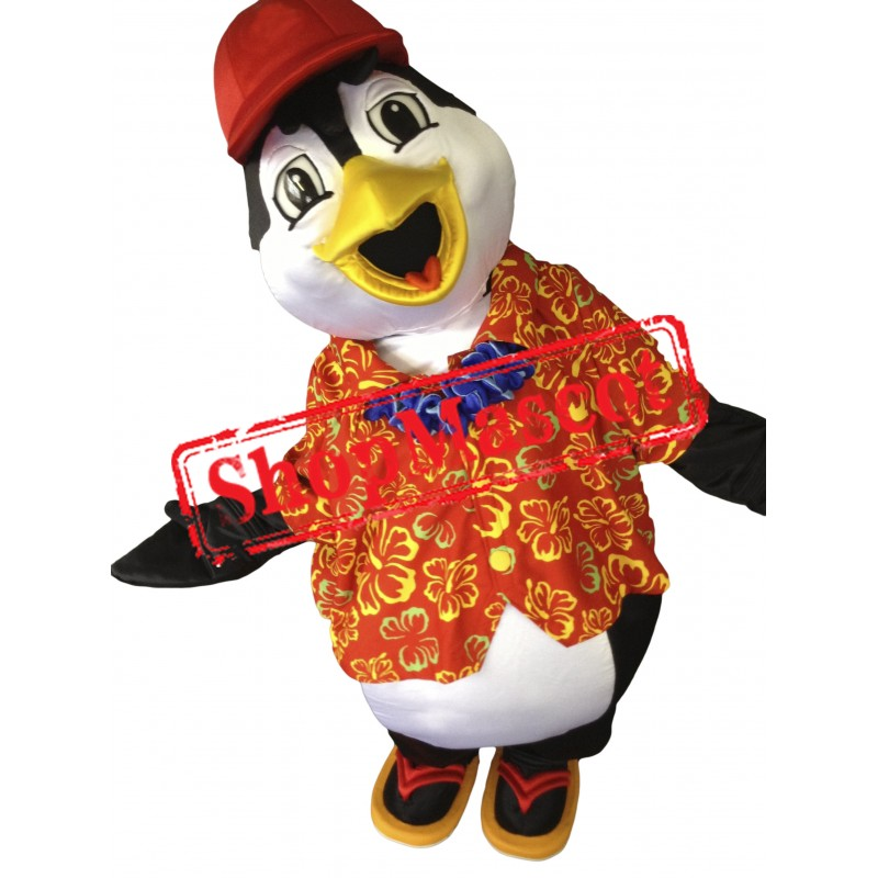 Summer Lightweight Penguin Mascot Costume