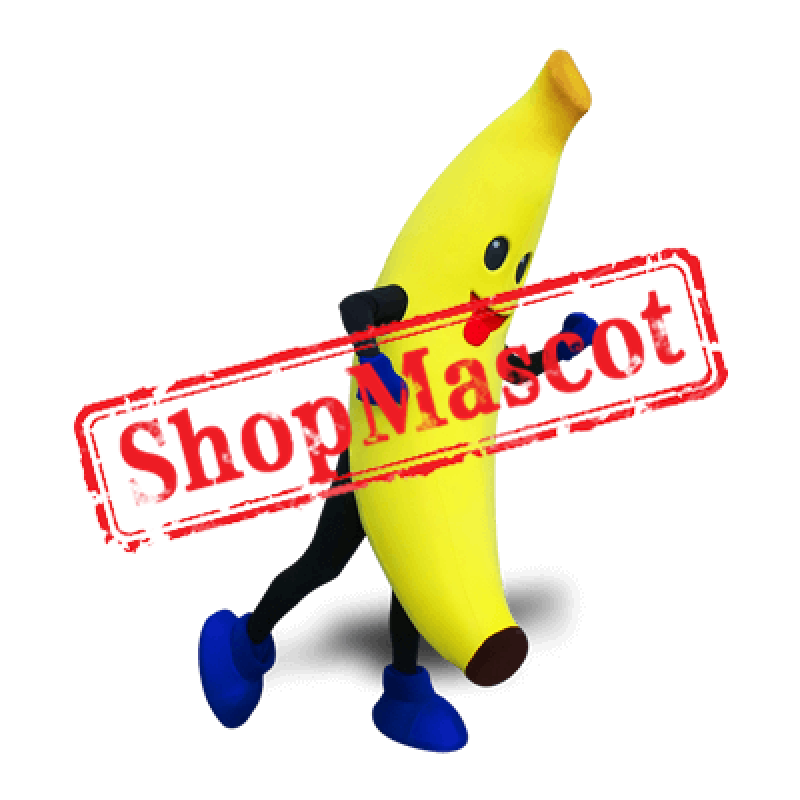 Happy Lightweight Banana Mascot Costume
