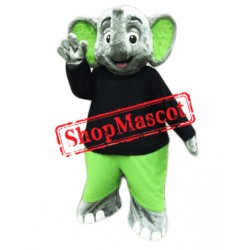 Best Quality Green Elephant Mascot Costume