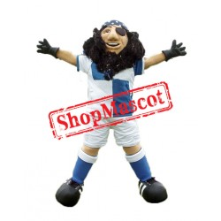 Sport Pirate Captain Mascot Costume