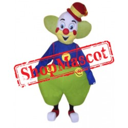 Happy Lightweight Clown Mascot Costume