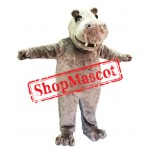 Friendly Lightweight Hippo Mascot Costume
