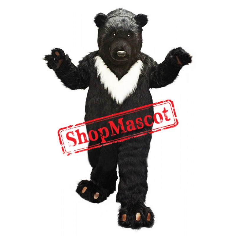 Big Black Bear Mascot Costume