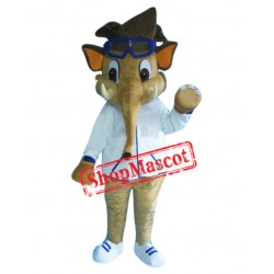 Boy Elephant Mascot Costume