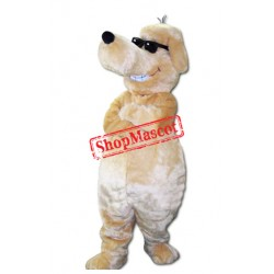 Sunglasses Dog Mascot Costume