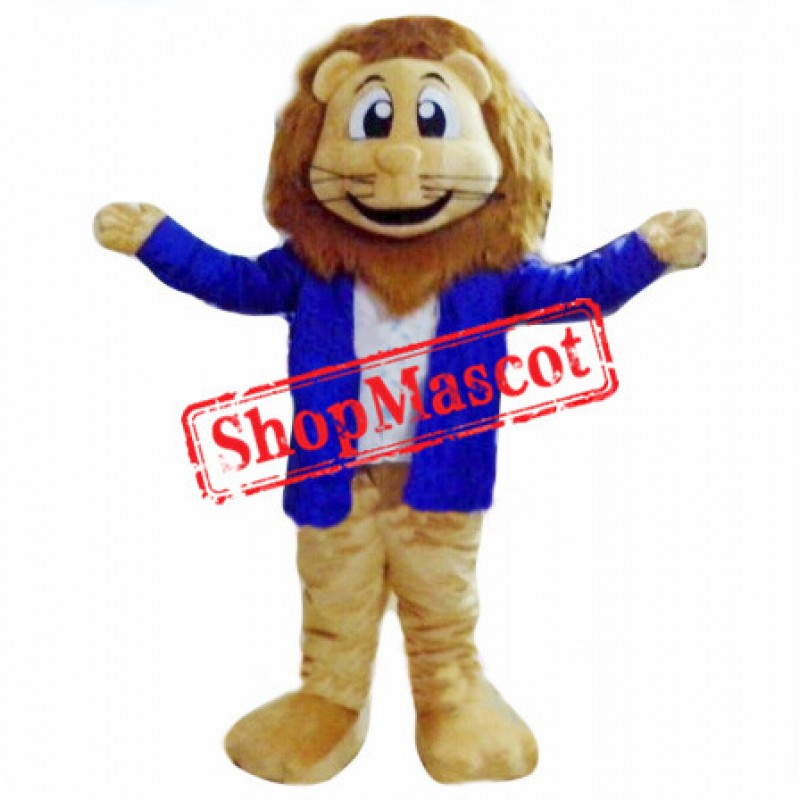 Cartoon Lightweight Lion Mascot Costume Free Shipping