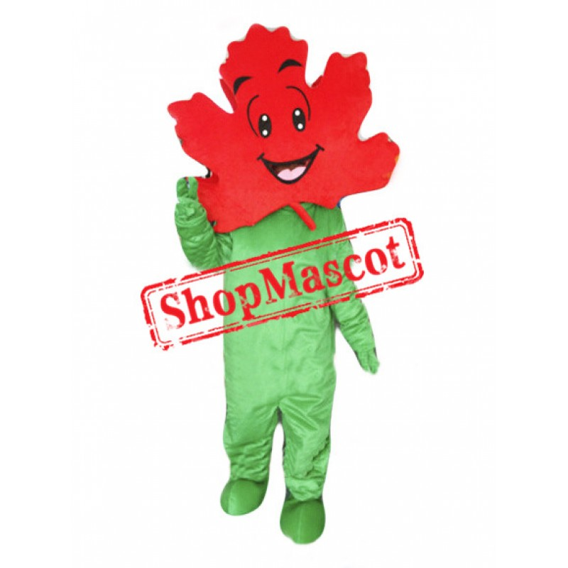 Maple Leaf Mascot Costume