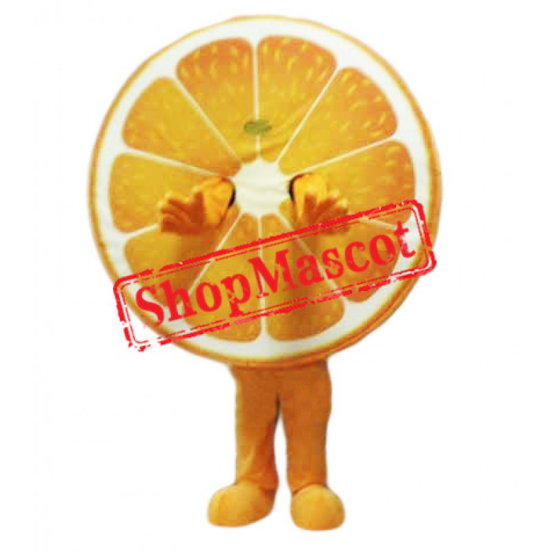 Juicy Orange Mascot Costume