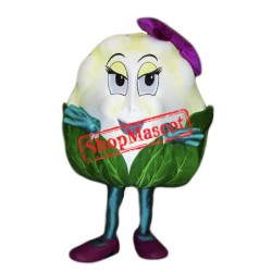 Cauliflower Mascot Costume