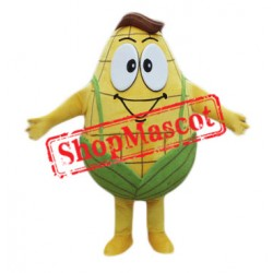 Golden Mr Corn Mascot Costume