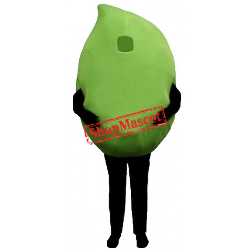 Green Lemo Mascot Costume