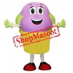 Ice Cream Mascot Costume Free Shipping