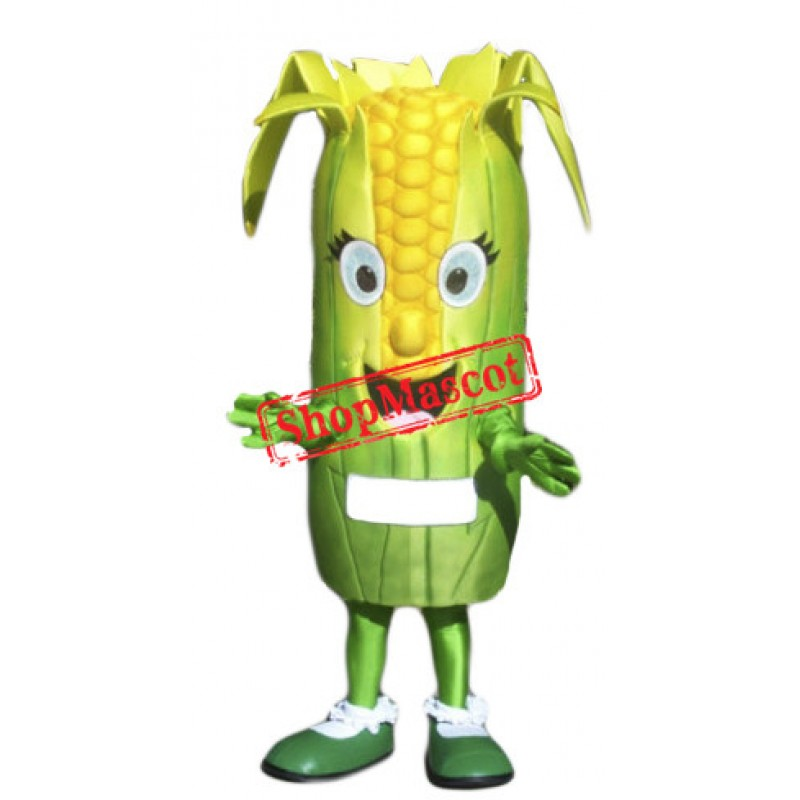 High Quality Corn Mascot Costume Free Shipping