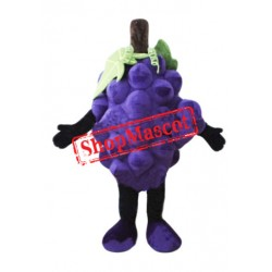 Purple Grape Mascot Costume