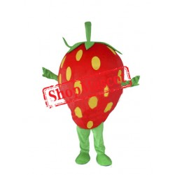 Cheap Strawberry Mascot Costume