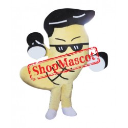 Power Cashew Mascot Costume