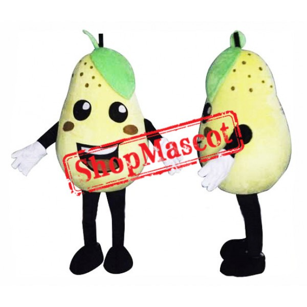 Happy Pear Mascot Costume
