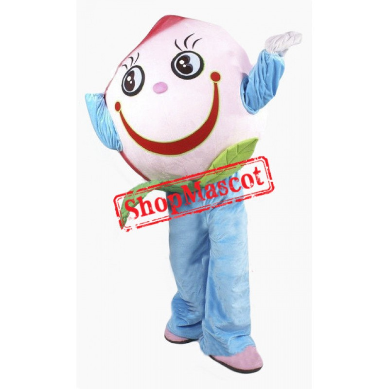 Cheap Pink Peach Mascot Costume