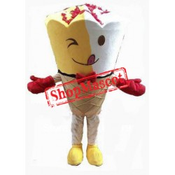 Sundae Ice Cream Mascot Costume