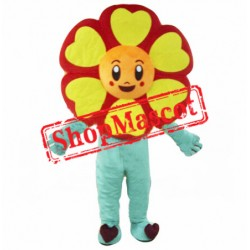 Cheap Sunflower Mascot Costume