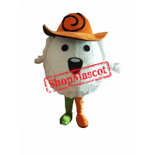Chinese Dumpling Food Mascot Costume