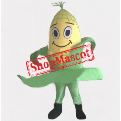 Smiling Corn Mascot Costume