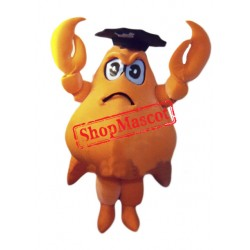 Captain Crab Mascot Costume